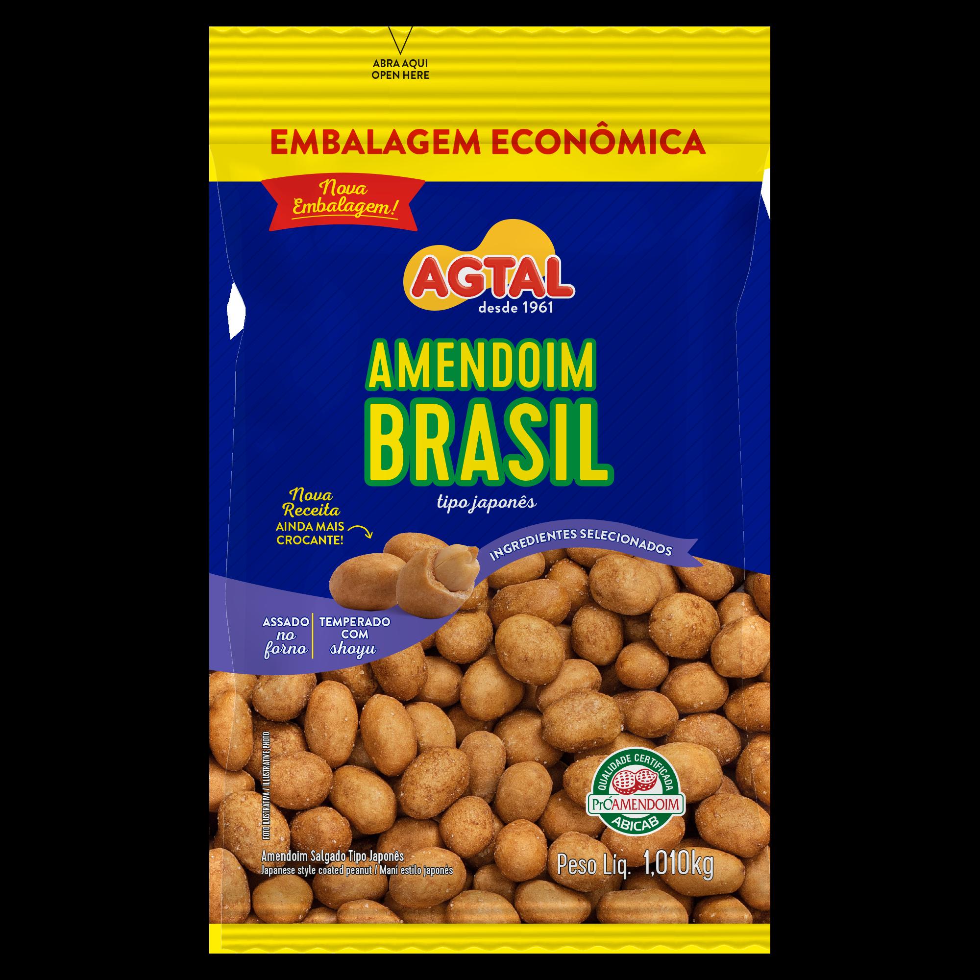 Amendoim Brasil 1,010kg