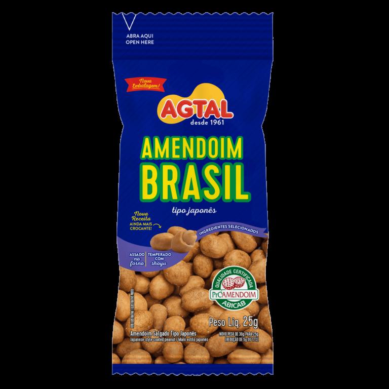 amendoim brasil tipo japonês 25g