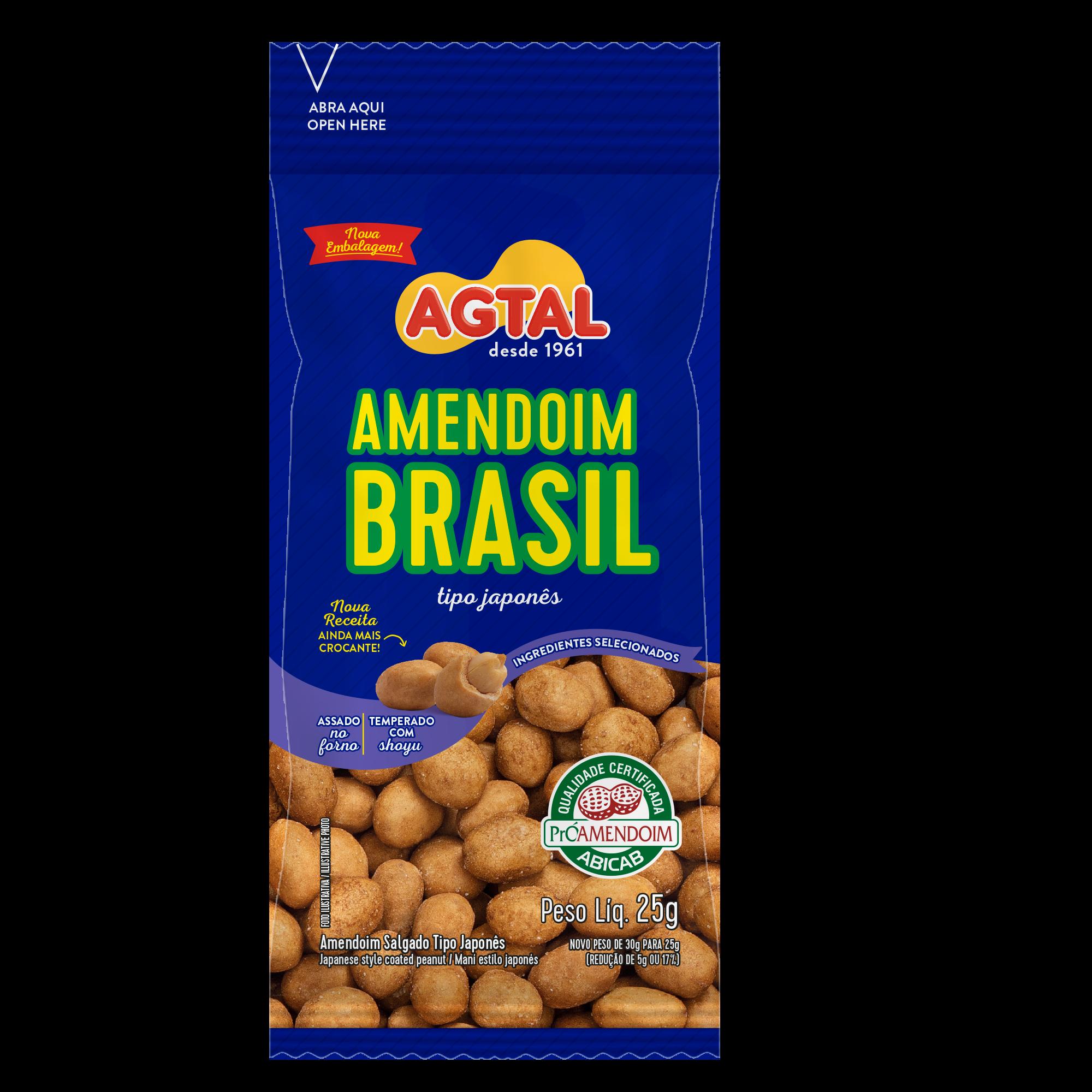 Amendoim Brasil 25g