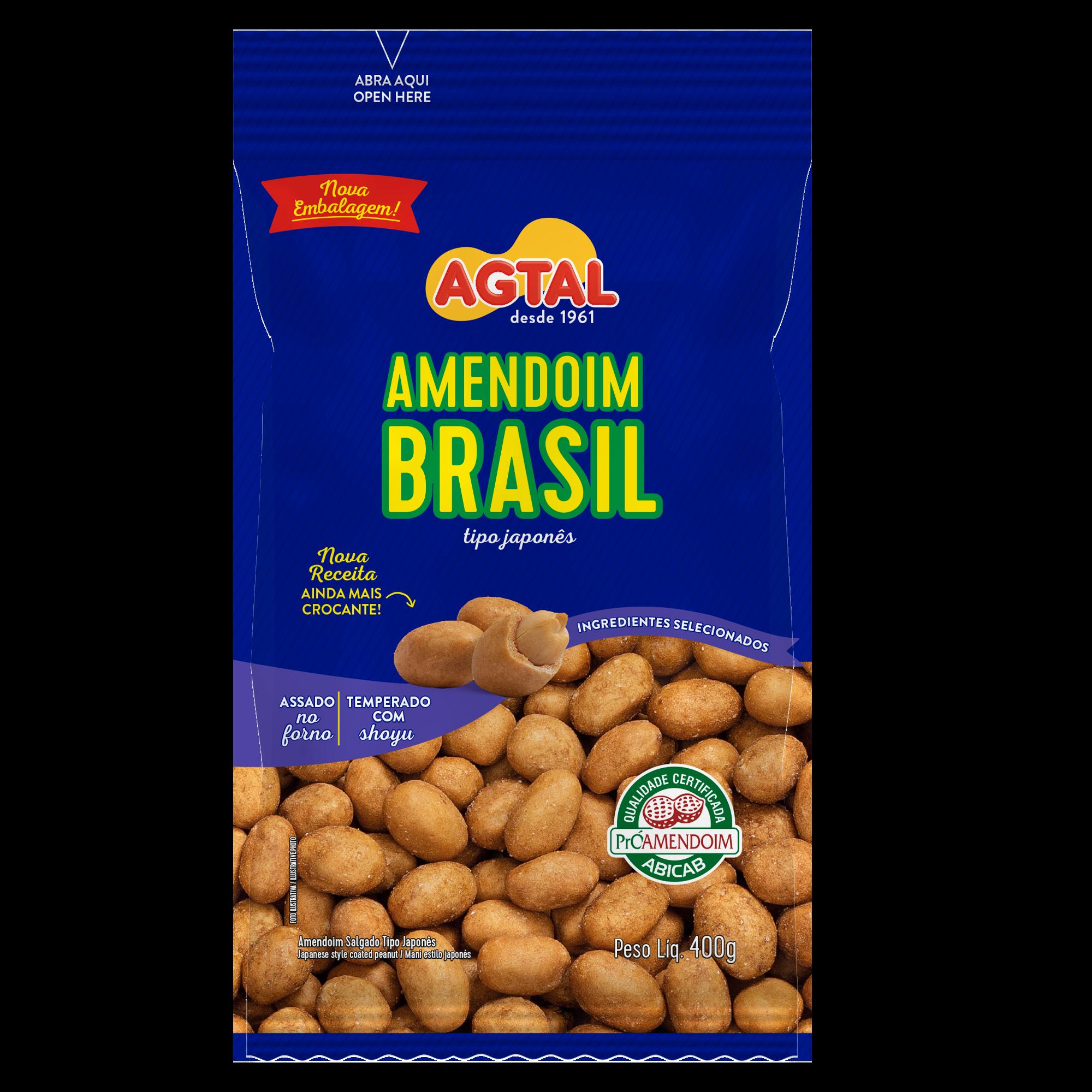 Amendoim Brasil 400g
