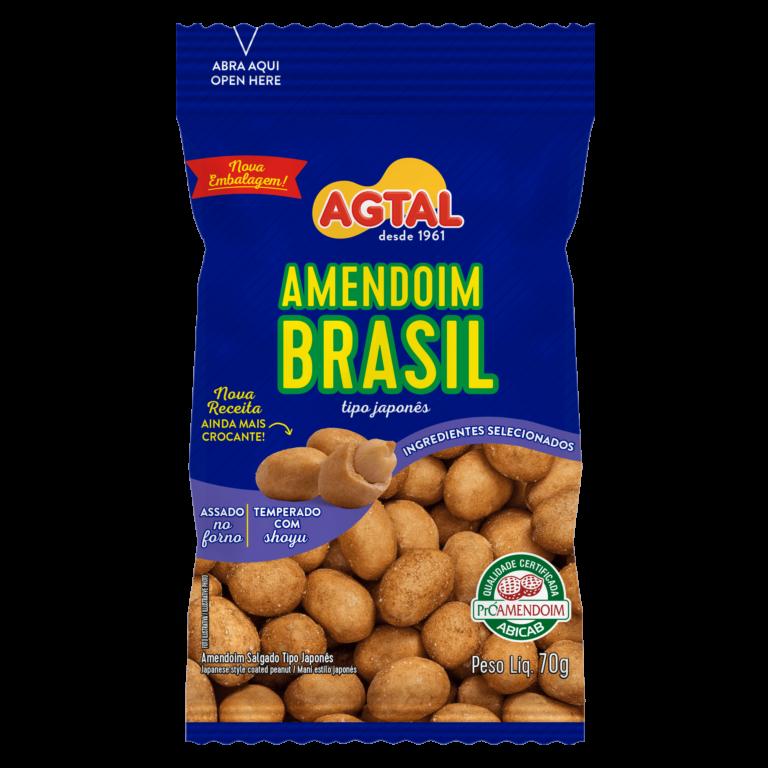 amendoim brasil tipo japonês 70g