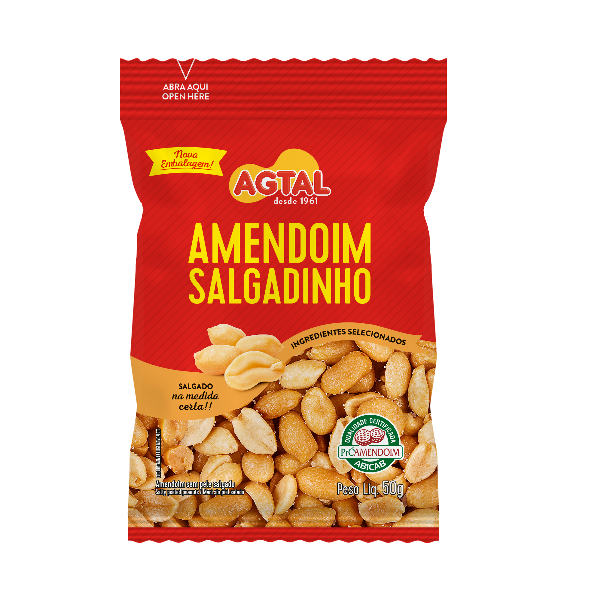 Amendoim Salgadinho 50g