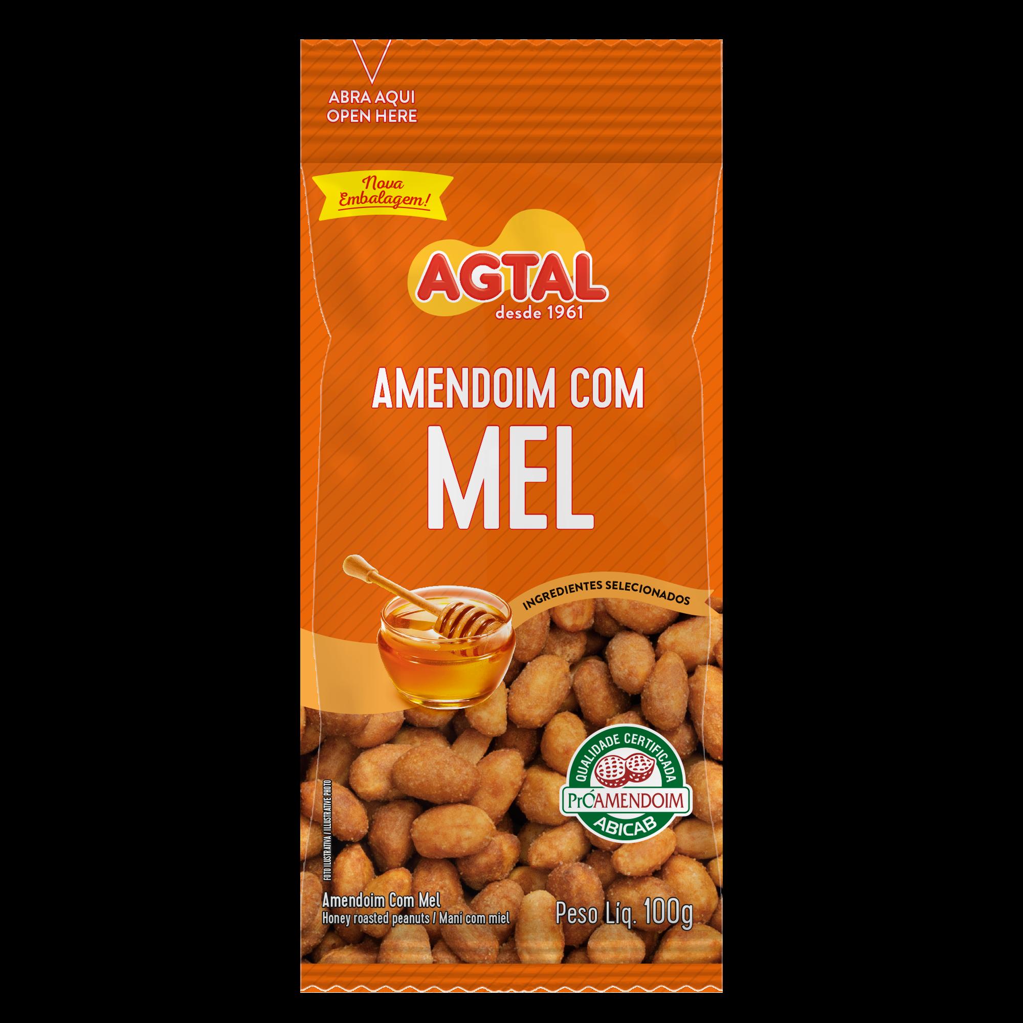 Amendoim com Mel 100g