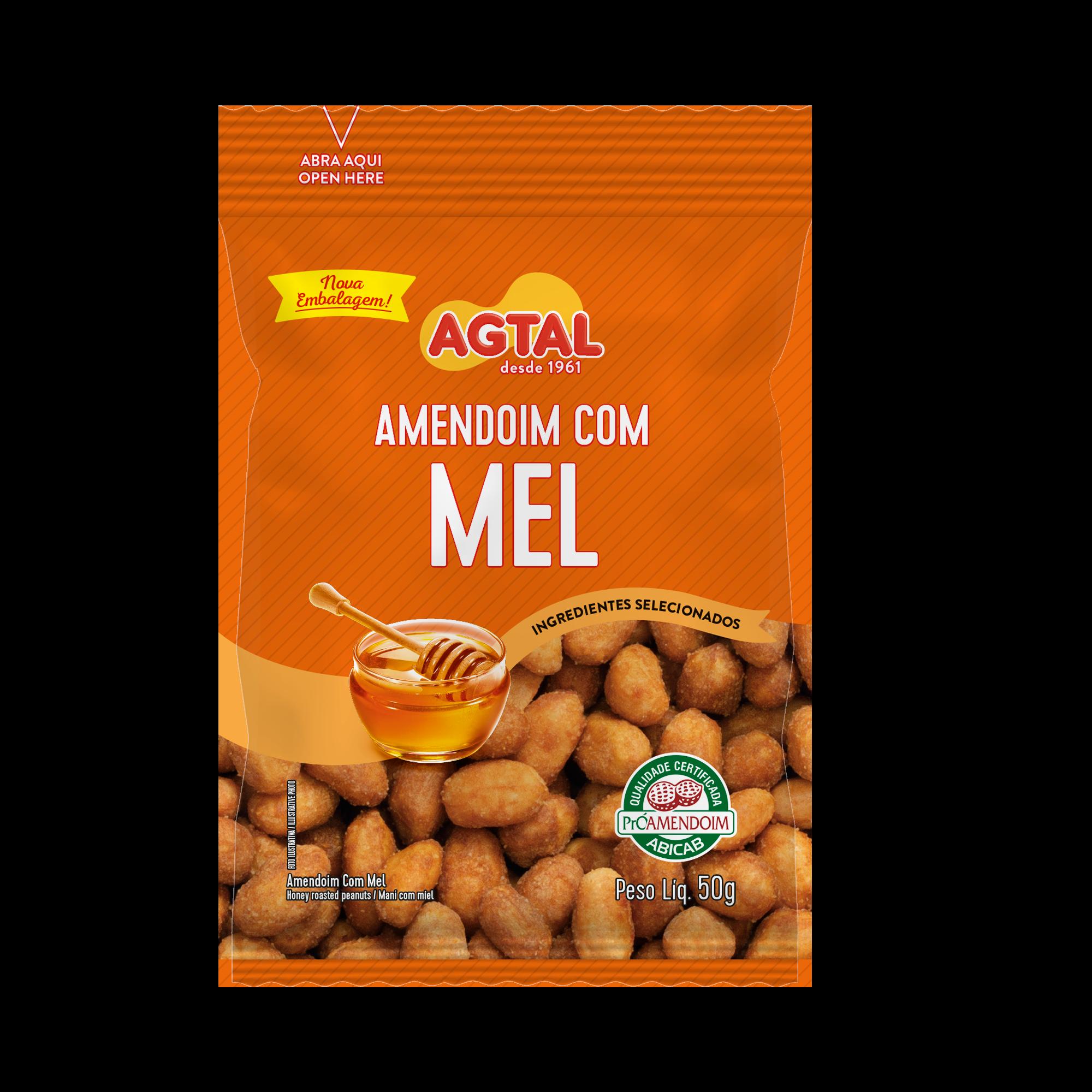 Amendoim com Mel 50g