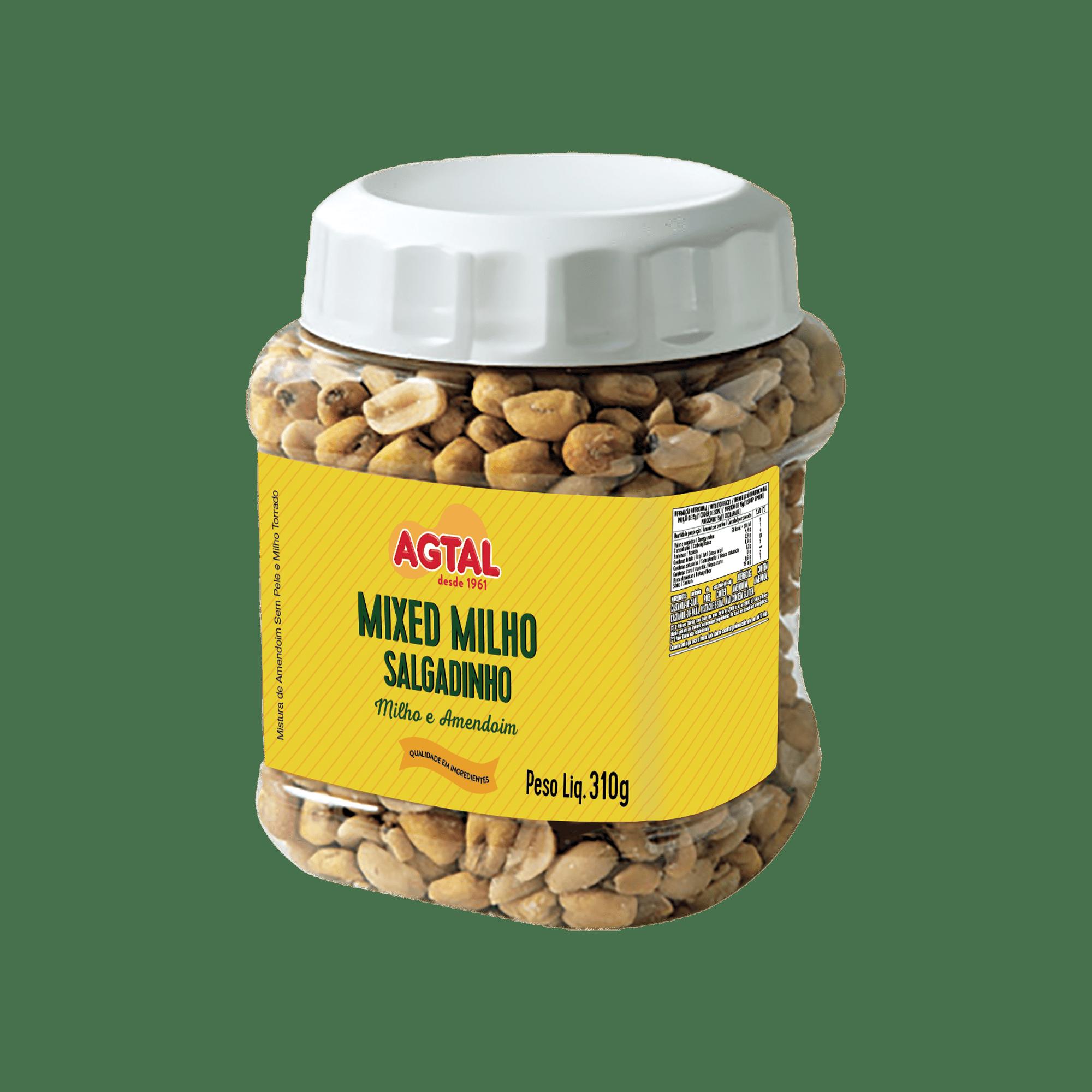 mixed milho salgadinho 310g