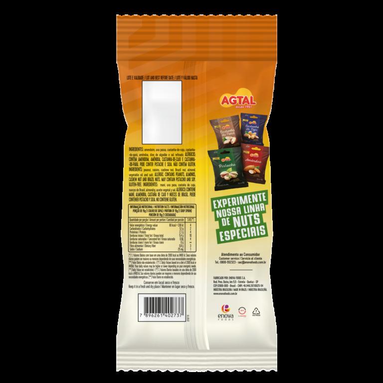 Mixed Nuts 140g - verso