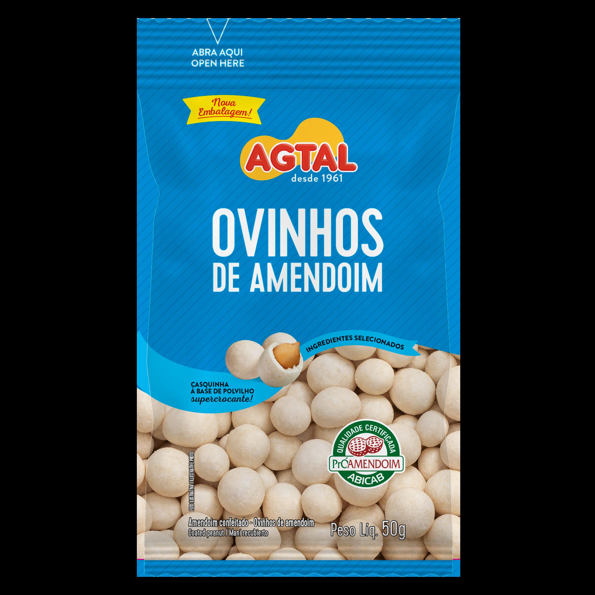 Ovinho de amendoim 50g
