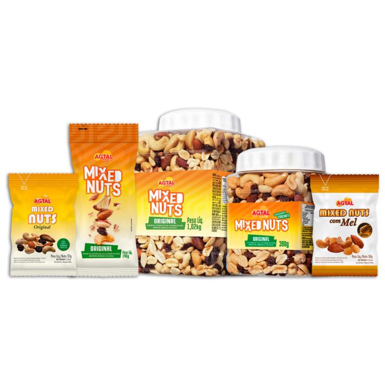 packshot mixed nuts
